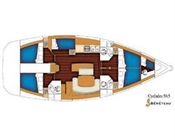 Beneteau Cyclades 50.5 (5Cab)