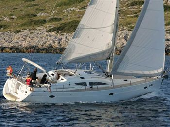 Yacht Charter Elan Impression 434  - Sailing Yacht in Marina Kastela - Croatia