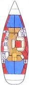 Yacht Charter Sun Odyssey 45.2 (4Cab)