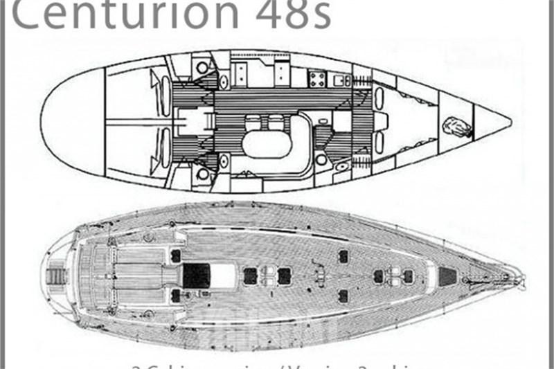 Аренда яхты Centurion 48s (3Cab)  /1998