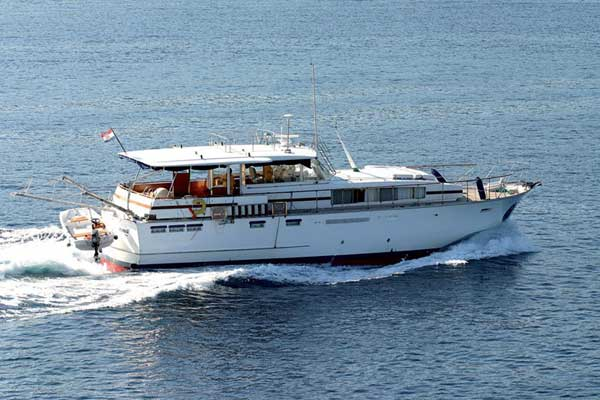 Yacht Charter Chris Craft 58 - Motor Yacht in Primosten / Marina Kremik - ...