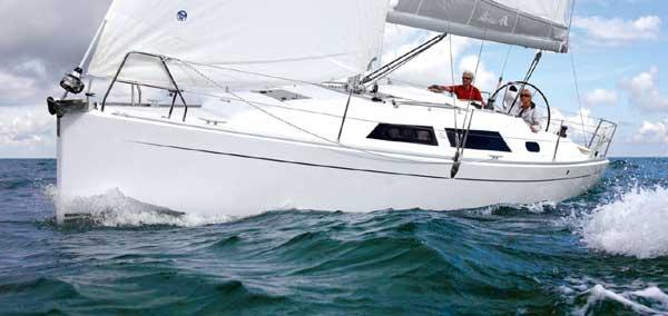 Аренда яхты Hanse 325 (2Cab)  /2012