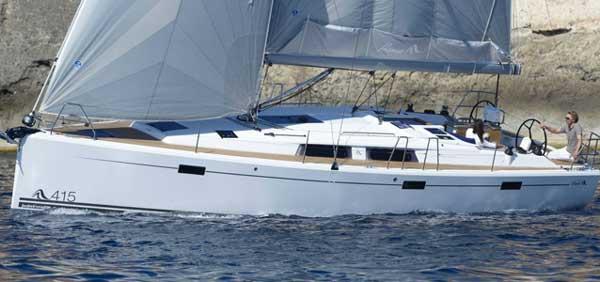 Аренда яхты Hanse 415 (3Cab)  /2016
