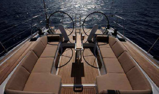 Yacht Charter Hanse 545e ...