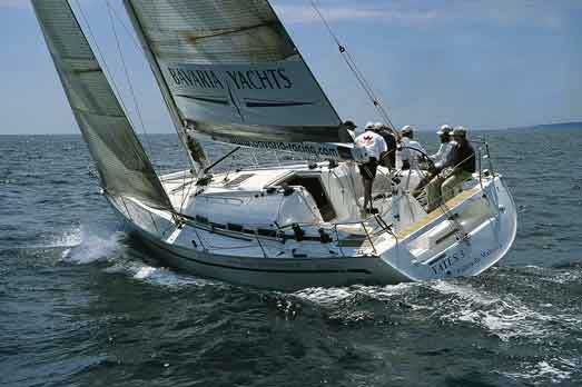 View of Bavaria 42 Match. Possible variations in details