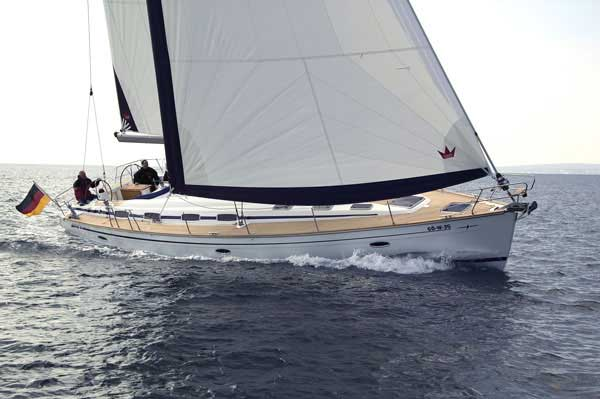 View of Bavaria 50 Cruiser. Possible variations in details