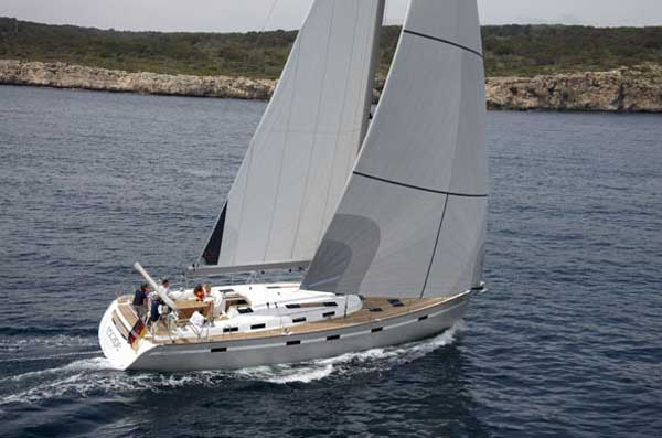 View of Bavaria 55 Cruiser. Possible variations in details
