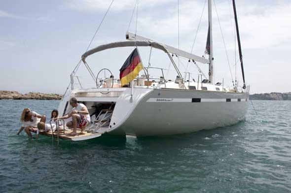 Yacht Charter Bavaria 55 Cruiser ...