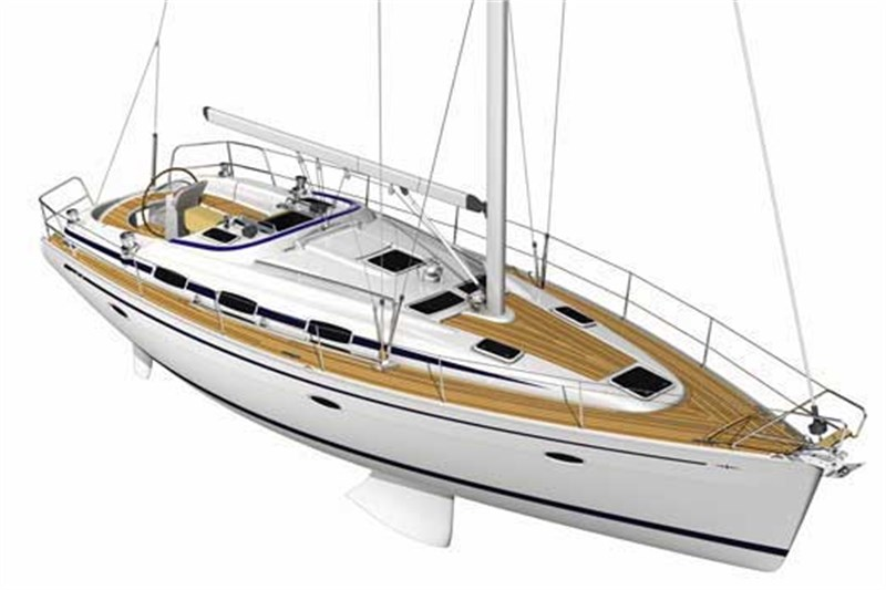 View of Bavaria 39 Cruiser. Possible variations in details