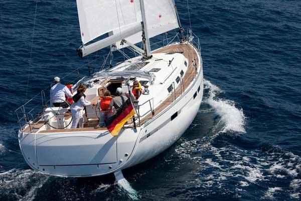 Yacht Charters, Bavaria Cruiser 45 (4Cab), Sailing yacht