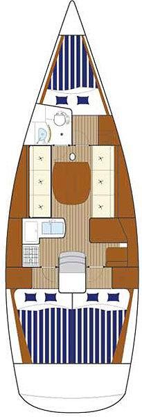 Аренда яхты First 36.7 (3Cab)  /2007