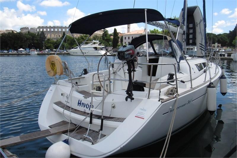 Аренда яхты Sun Odyssey 36i (3Cab)  /2007