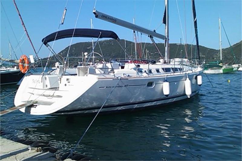 Аренда яхты Sun Odyssey 49 (4Cab)  /2006