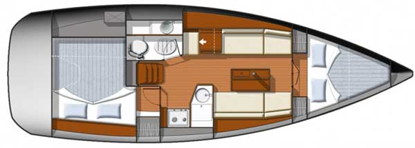 Аренда яхты Sun Odyssey 33i  /2011