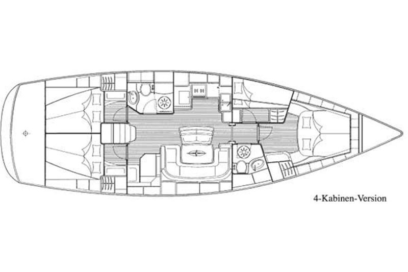 Аренда яхты Bavaria 46 Cruiser (4Cab)  /2007