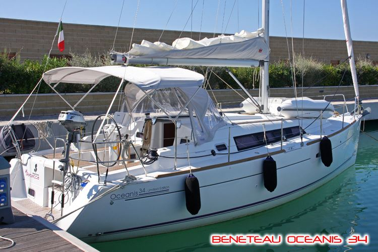 Аренда яхты Oceanis 34 (2Cab)  /2011