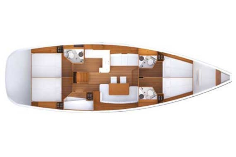 Аренда яхты Jeanneau 53 (5Cab)  /2012