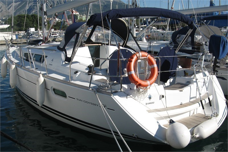 Аренда яхты Sun Odyssey 39i (3Cab)  /2009