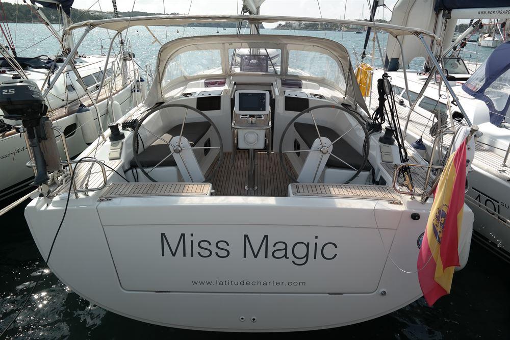 Аренда яхты Hanse 415 (3Cab)  /2012