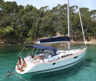 Аренда яхты Sun Odyssey 49i (4Cab)  /2008