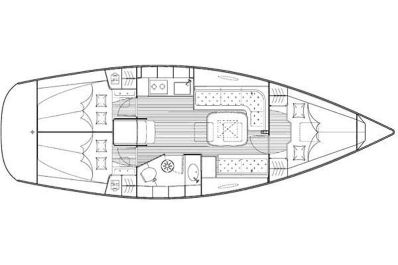 Аренда яхты Bavaria 35 Cruiser (3Cab)  /2009