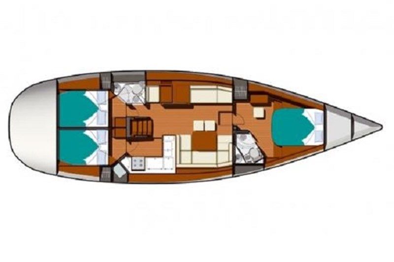 Аренда яхты Sun Odyssey 50 DS (3Cab)  /2009