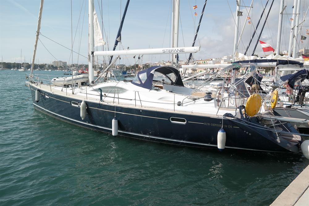 Аренда яхты Sun Odyssey 54 DS (5Cab)  /2005