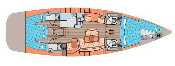 Аренда яхты Elan Impression 514 (5Cab)  /2007