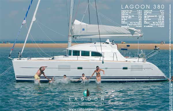 Lagoon 380 S2 (4Cab)