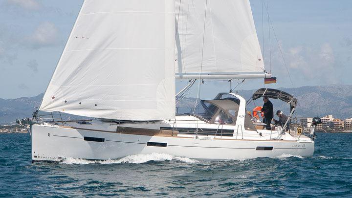 Аренда яхты Oceanis 41 (3Cab)  /2014