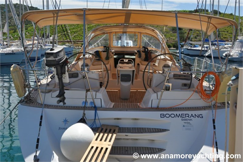 Аренда яхты Sun Odyssey 54 DS (5Cab)  /2006