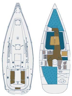 Аренда яхты Elan 333 (2Cab)  /2005
