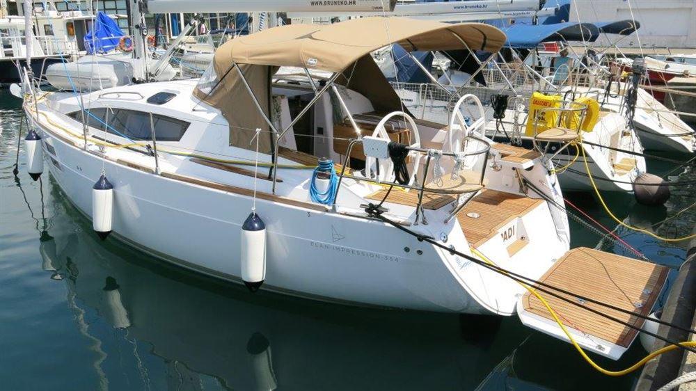 Аренда яхты Elan Impression 354 (3Cab)  /2014