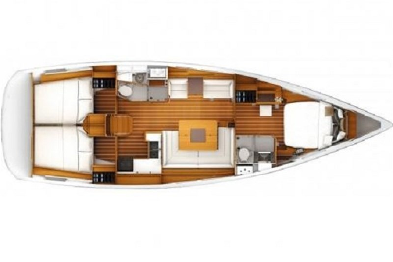 Аренда яхты Sun Odyssey 439 (3Cab)  /2014