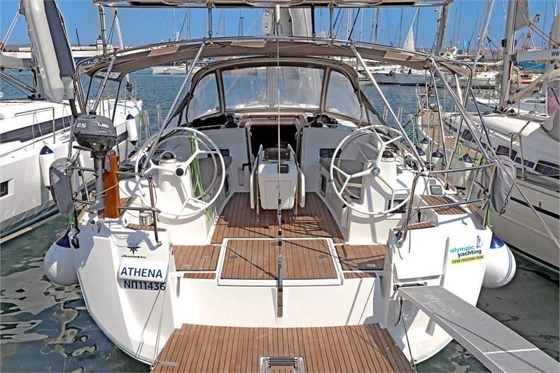 Аренда яхты Sun Odyssey 469 (4Cab)  /2016