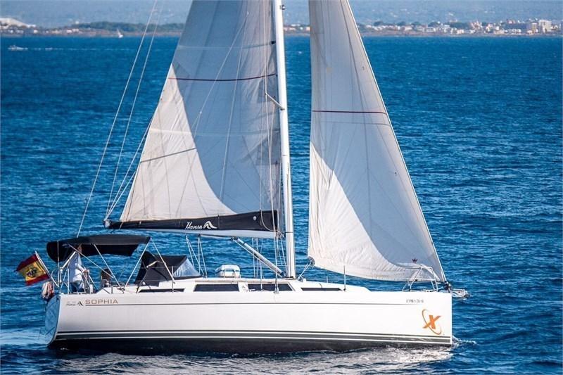 Аренда яхты Hanse 345 (3Cab)  /2016