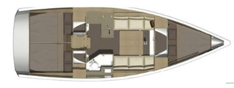 Аренда яхты Dufour 350 Grand Large (3Cab)  /2016
