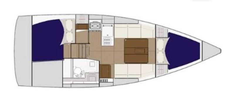 Dufour 310 Grand Large (2Cab)
