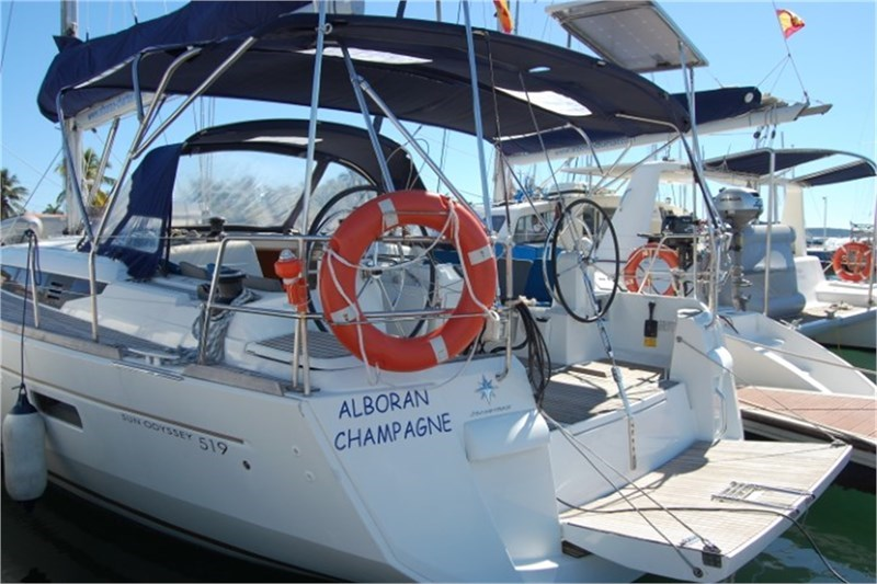 Аренда яхты Sun Odyssey 519 (5Cab)  /2016