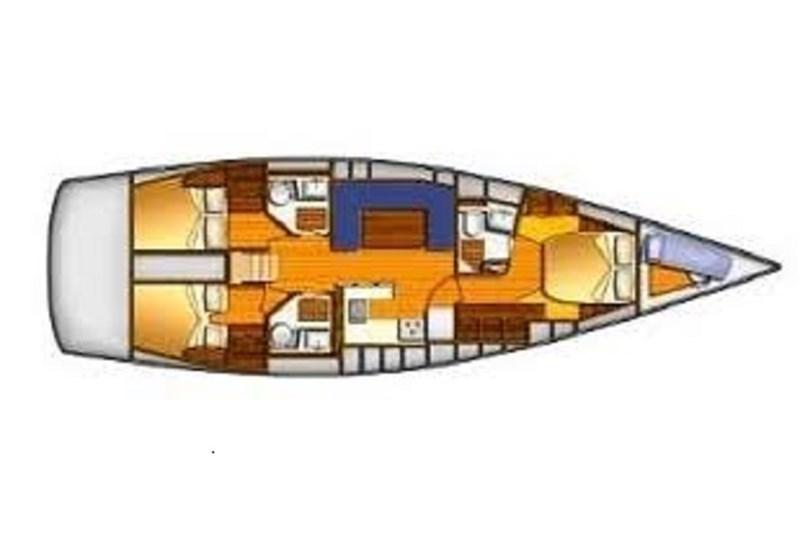 Аренда яхты Comet 52 RS (3Cab)  /2010