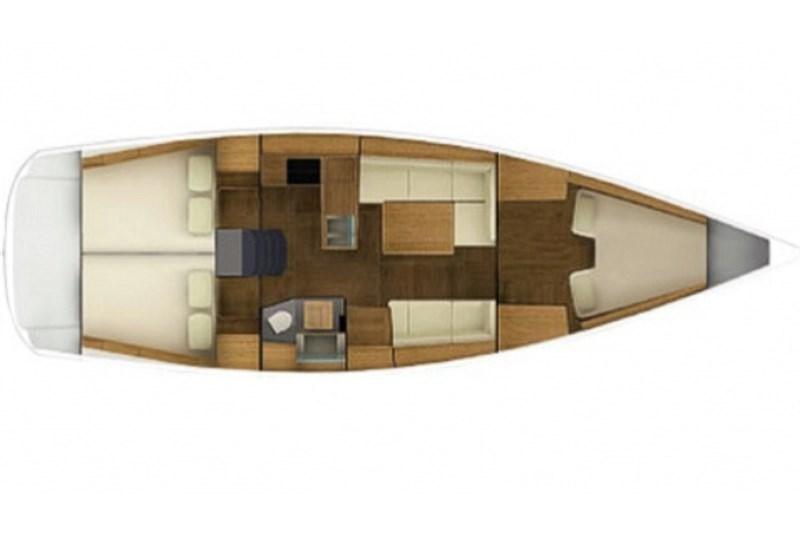 Аренда яхты Grand Soleil 39 (3Cab)  /2012