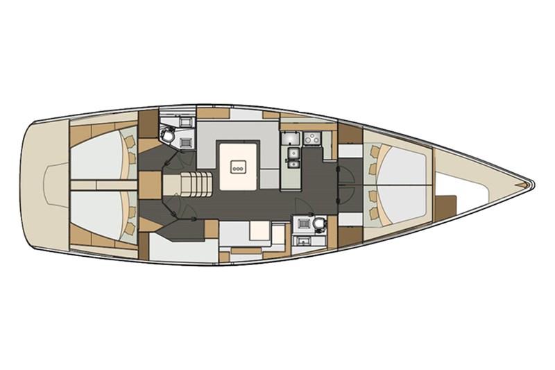 Аренда яхты Elan Impression 50 (5Cab)  /2017
