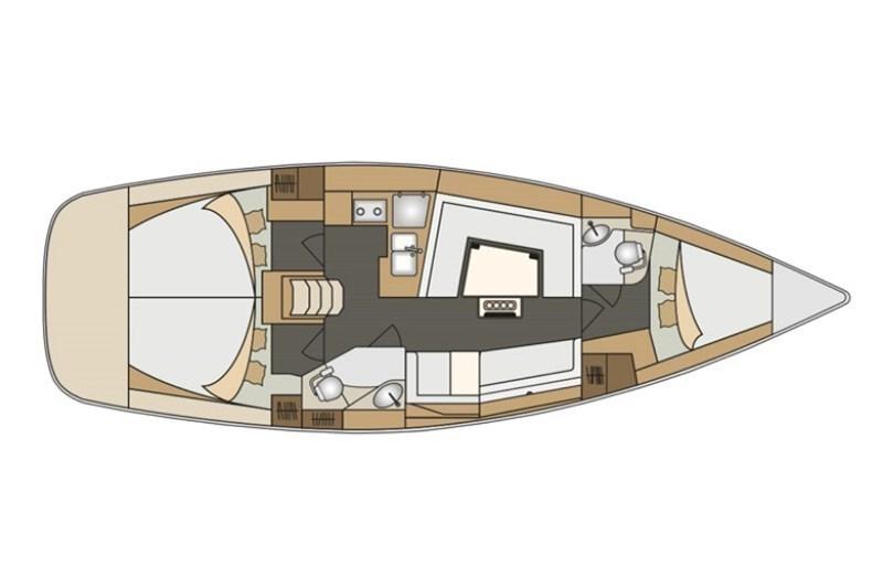 Аренда яхты Elan Impression 40 (3Cab)  /2017