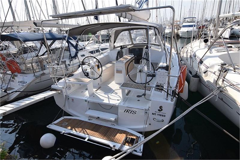 Аренда яхты Oceanis 381 (3Cab)  /2017