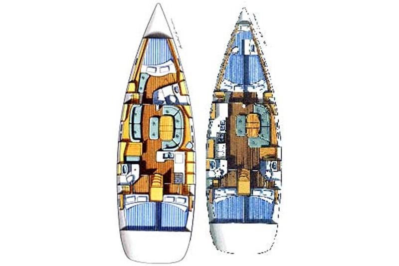Аренда яхты Oceanis 473 (4Cab)  /2004
