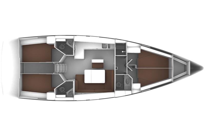 Аренда яхты Bavaria Cruiser 46 (4Cab)  /2018