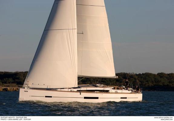 Аренда яхты Dufour 500 Grand Large (5Cab)  /2015