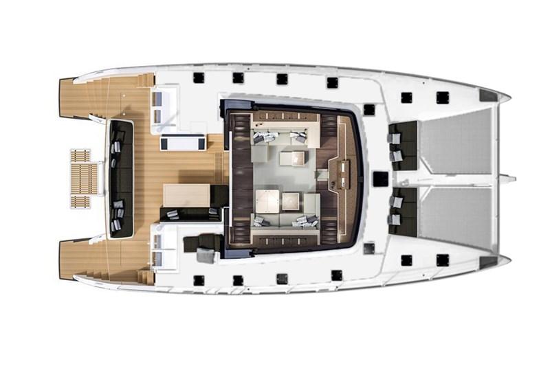 Yacht Charter, Lagoon 620 (5cab), Sailing yacht, Catamaran