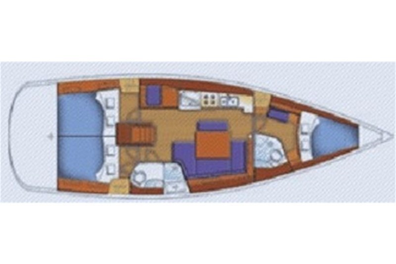 Аренда яхты Oceanis 43 (3Cab)  /2007