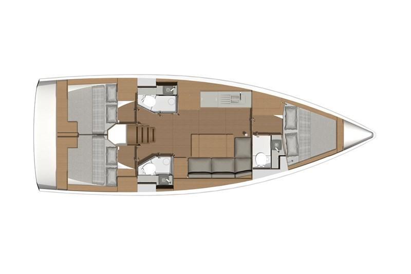 Аренда яхты Dufour 39 (3Cab)  /2019